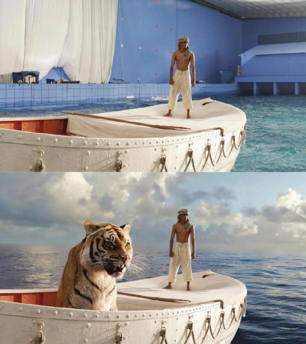 20 Before and After Comparisons of Movie Visual Effects 15