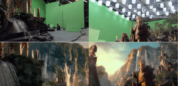 20 Before and After Comparisons of Movie Visual Effects 19