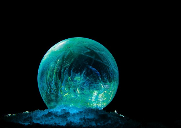 Mysterious Frozen Bubbles By Hope Carter 13