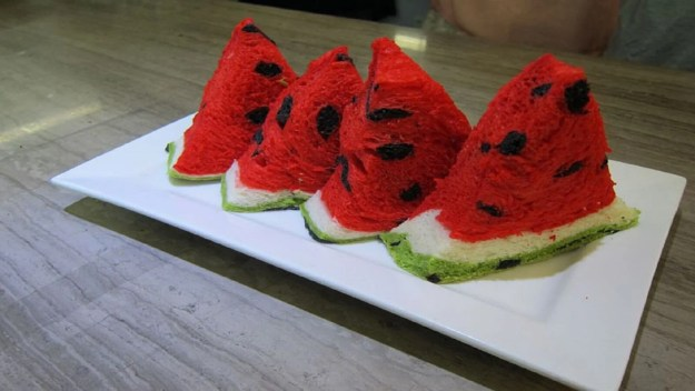 Taiwan's watermelon bread will delight your senses and confuse your tastebuds 7