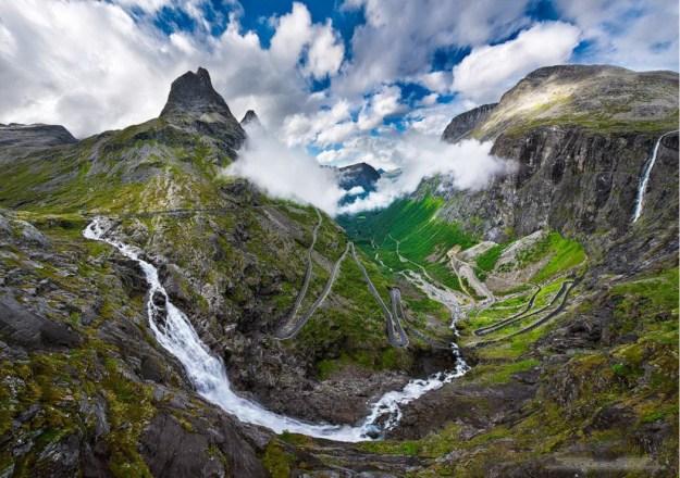 1. Trollstigen Road in Norway 1