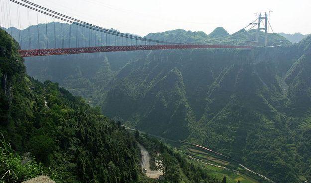 5) Aizhai Winding Road, China 1