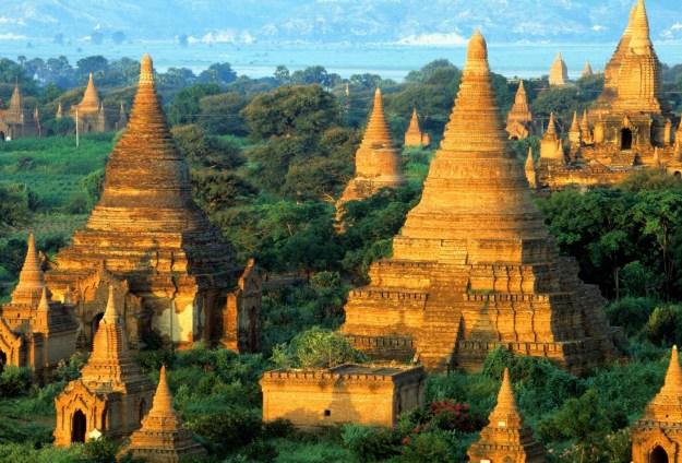 7) Bagan, Burma