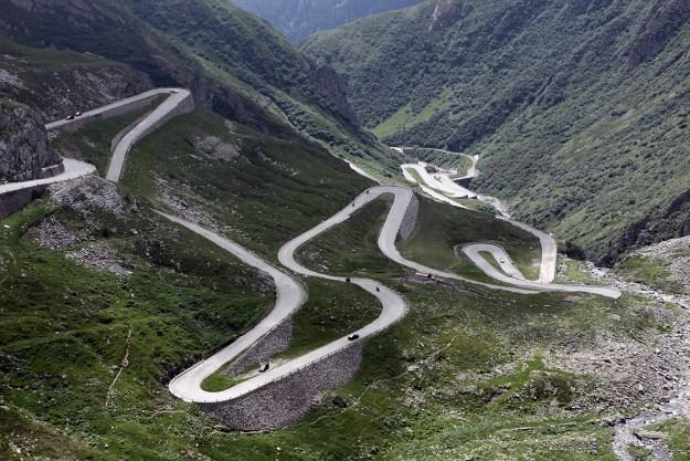 8) The Stelvio Pass, the Italian Alps 1