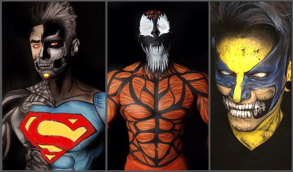 Realistic Superhero Drawings