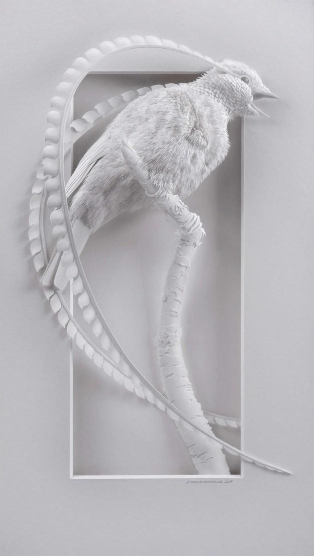 Super Realistic Paper Sculptures Of Animals By Calvin Nicholls 2