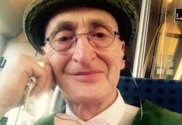 Stylish Grandpa Takes Internet by Storm 7