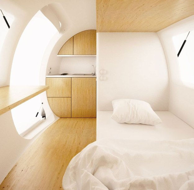 This Spacecraft-Like Micro-Home Will Amaze Sci-Fi Fans 5