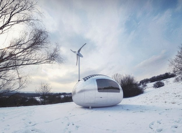 This Spacecraft-Like Micro-Home Will Amaze Sci-Fi Fans 7