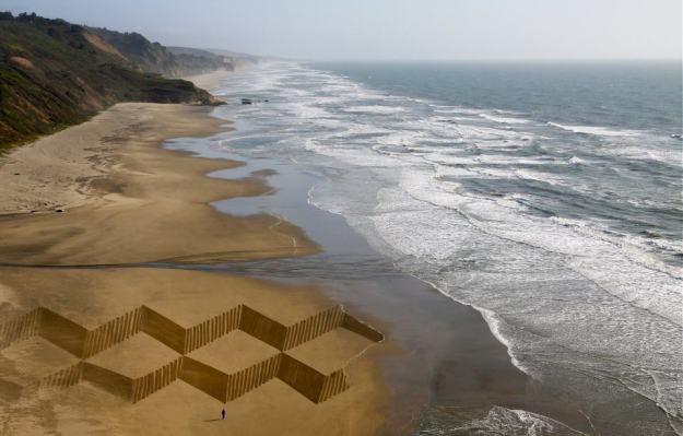Stunning Beach Artworks By Andres Amador 2