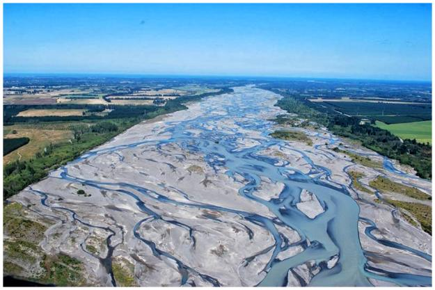 16-Braided river, Iceland