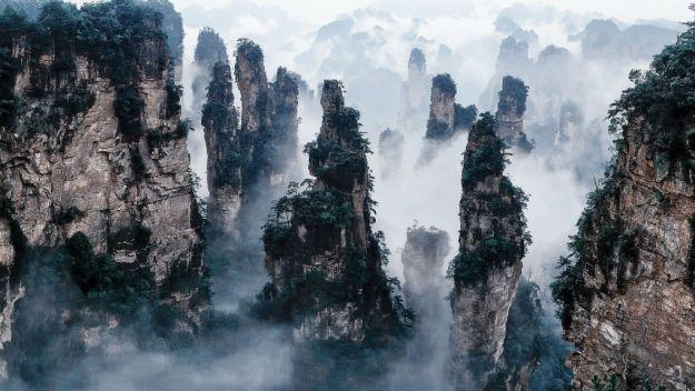 18-Tianzi Mountains China