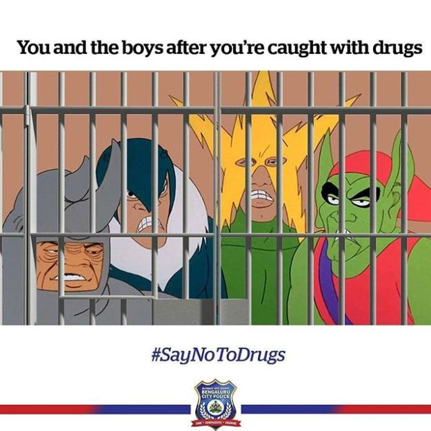Bengaluru City Police Uses Memes To Attract New Followers! #10 | Brain Berries