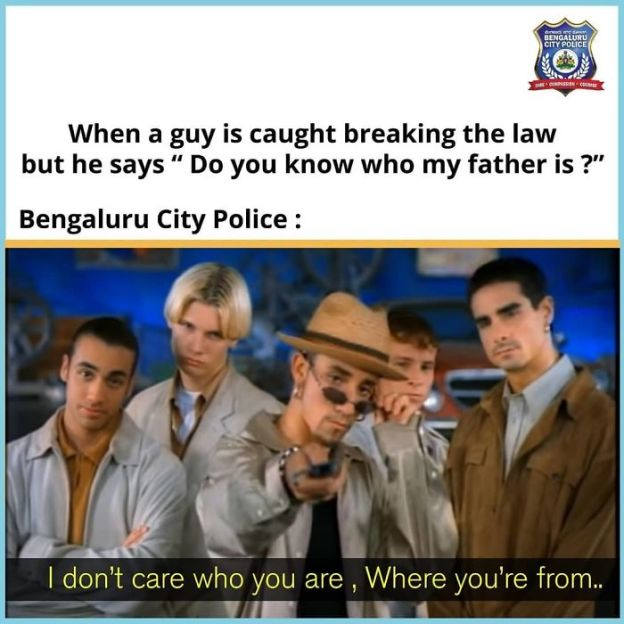 Bengaluru City Police Uses Memes To Attract New Followers! #7| Brain Berries
