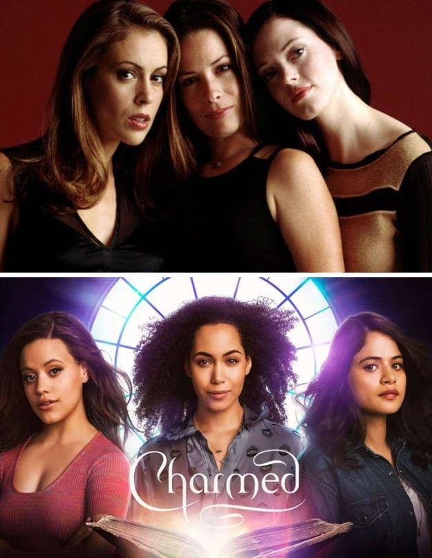 Charmed | What Iconic Female Characters Look Like In Remakes (Lara Croft Will Really Surprise You) Brain Berries