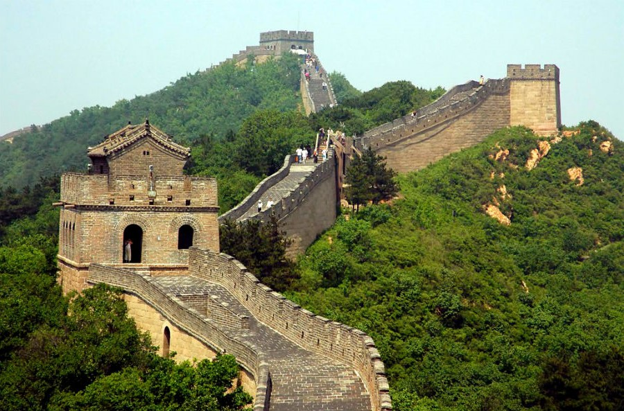 Chinese Great Wall stairs, Huairou, China | 15 Most Astonishing Staircases In the World | Brain Berries