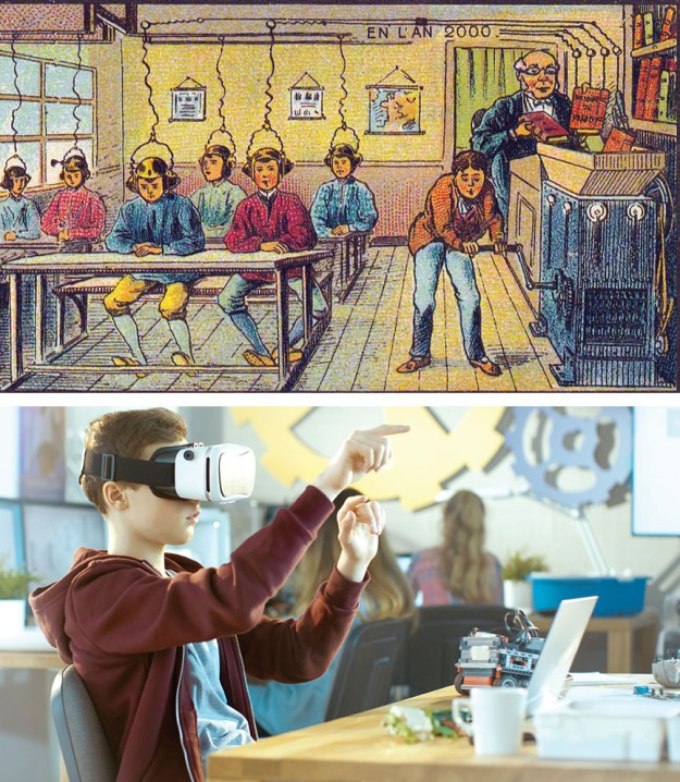 Computerized education | 10 Modern Things That Were Predicted Hundreds Of Years Before They Appeared | Brain Berries