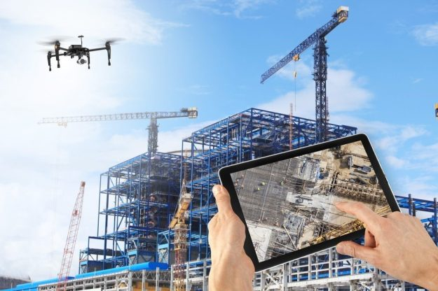 Construction | 8 Surprising Ways Drones Could Be Used in the Future | Brain Berries