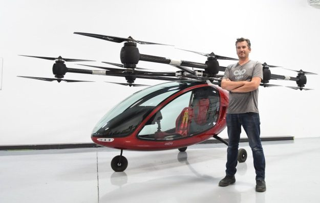 Drones as passenger vehicles | 8 Surprising Ways Drones Could Be Used in the Future | Brain Berries