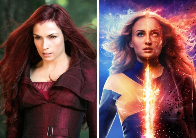 Jean Grey | What Iconic Female Characters Look Like In Remakes (Lara Croft Will Really Surprise You) Brain Berries