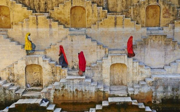 Stepwells, Rajasthan, India | 15 Most Astonishing Staircases In the World | Brain Berries