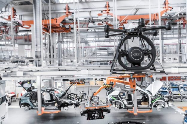 Audi's Assistant Drones | 8 Surprising Ways Drones Could Be Used in the Future | Brain Berries