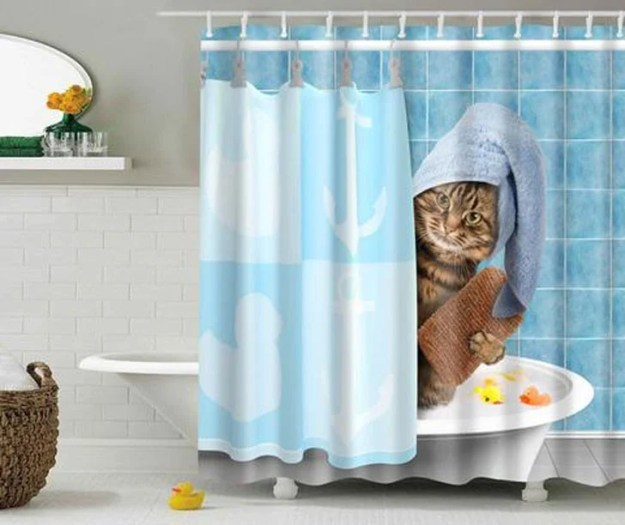 28 Geeky and Hilarious Shower Curtains For Adult #13 | Brain Berries