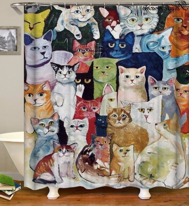 28 Geeky and Hilarious Shower Curtains For Adult #15 | Brain Berries