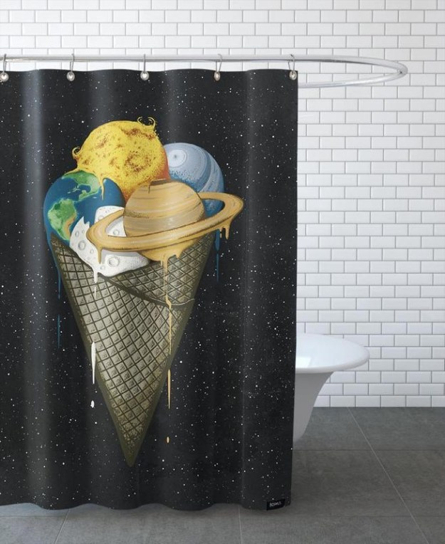 28 Geeky and Hilarious Shower Curtains For Adult #17 | Brain Berries