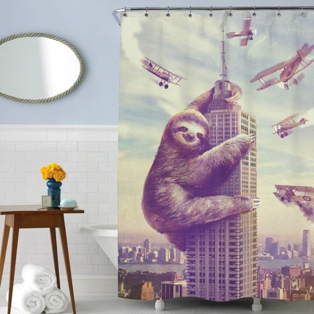 28 Geeky and Hilarious Shower Curtains For Adult #18 | Brain Berries