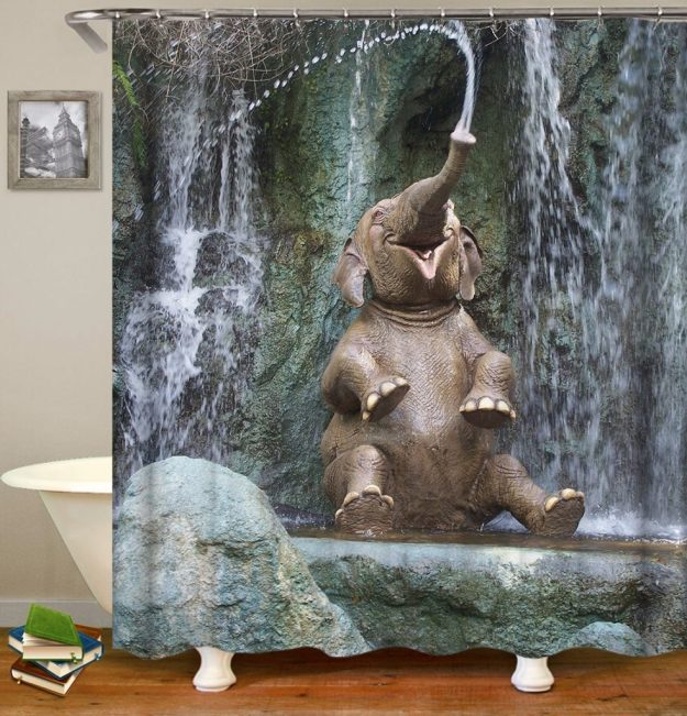 28 Geeky and Hilarious Shower Curtains For Adult #27 | Brain Berries