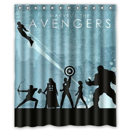 28 Geeky and Hilarious Shower Curtains For Adult #5 | Brain Berries