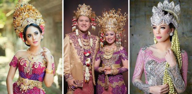 Indonesian wedding | The Most Stunning Wedding Looks From Around The World | Brain Berries