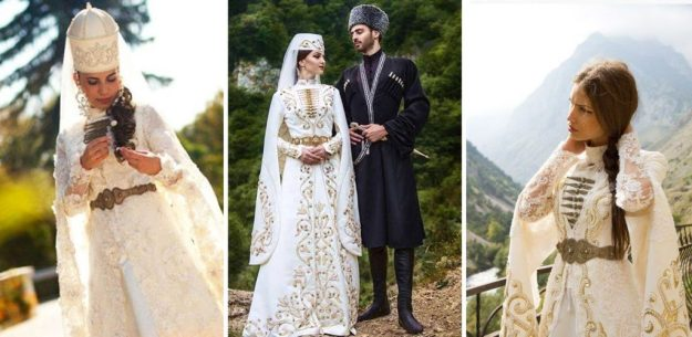 Ossetian wedding | The Most Stunning Wedding Looks From Around The World | Brain Berries