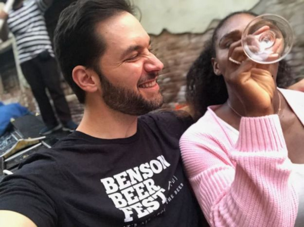 Alexis Ohanian and the Italian dinner  for Serena Williams   10 Most Romantic Gestures Ever Done By Celebrities   Brain Berries