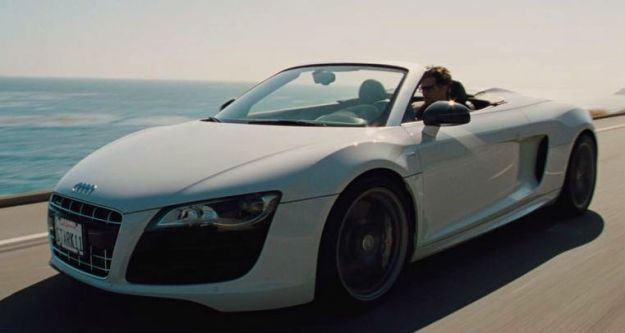 Audi R8 Spyder  | The 6 Best Supercars In Movies | Brain Berries