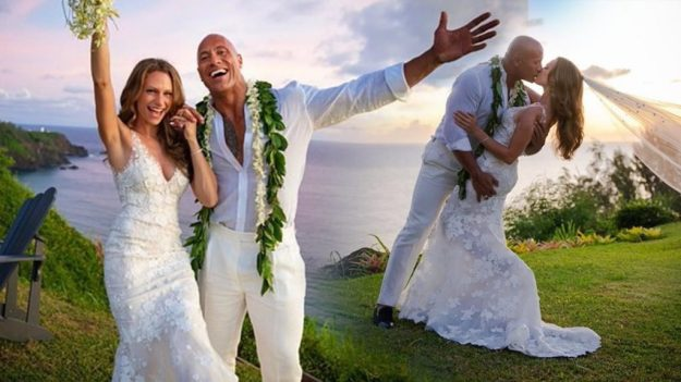 Dwayne 'the Rock' Johnson and his wife   10 Most Romantic Gestures Ever Done By Celebrities   Brain Berries