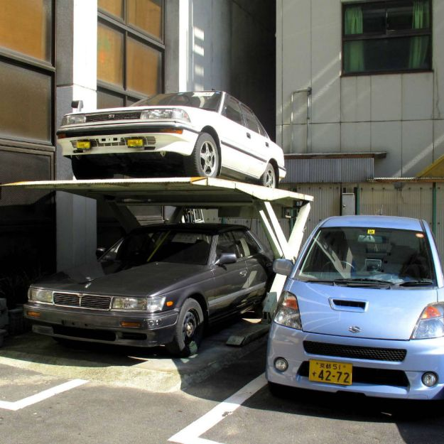 Garage Parking Elevators | 8 Insane Everyday Japanese Tech That make You Wish You Lived In Japan | Brain Berries