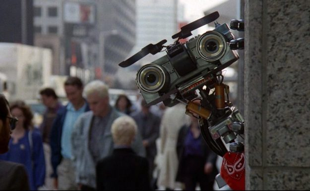 Johnny-5 –Short Circuit | 9 Best Movie Robots of All Time | Brain Berries
