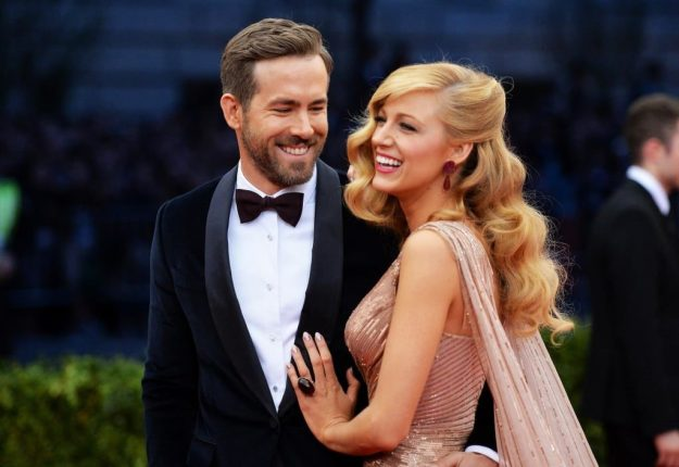 Ryan Reynolds  and Blake Lively   10 Most Romantic Gestures Ever Done By Celebrities   Brain Berries