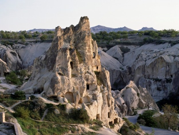 The Cave Churches of Goreme, Turkey exterior   17 Astonishingly Beautiful Cave Churches Around The World   Brain Berries