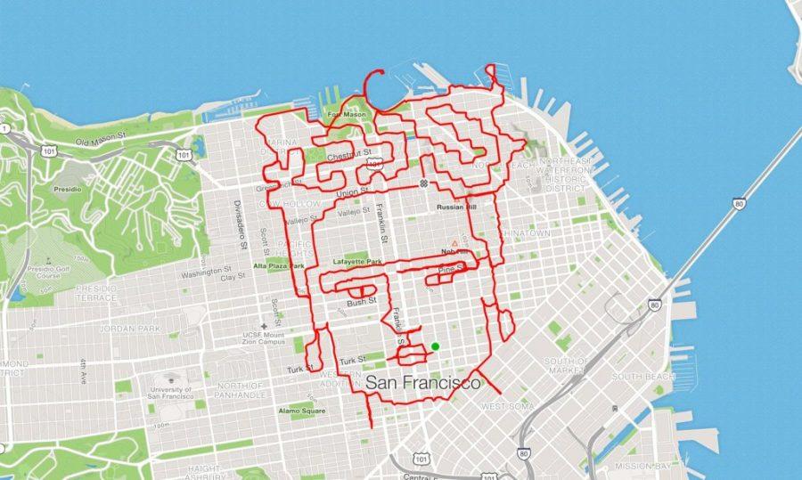 عداء ليني موغان فريدا كاهلو |  عداء سان فرانسيسكو يبتكر الفن فقط من خلال الركض في الأرجاء |  التوت الدماغ