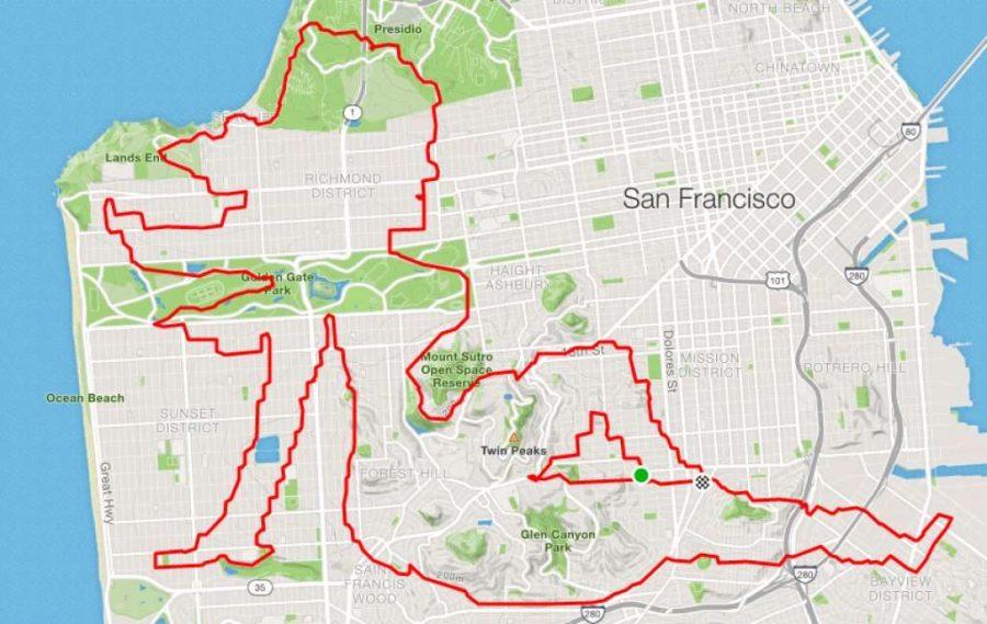 عداء ليني موغان سيدة تقشعر لها الأبدان |  عداء سان فرانسيسكو يبتكر الفن فقط من خلال الركض في الأرجاء |  التوت الدماغ