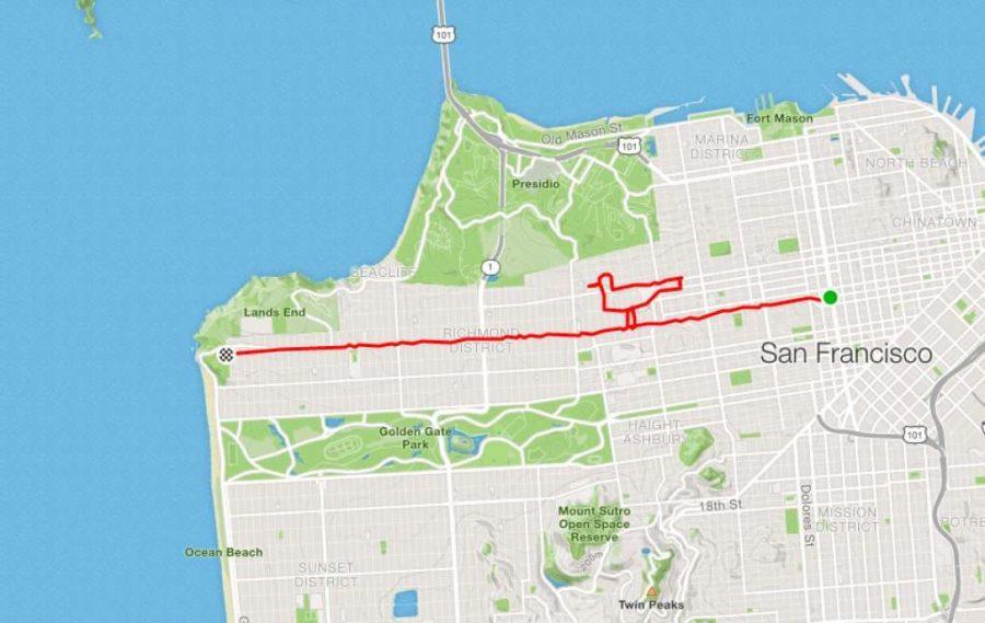 عداء ليني موغان بيردي |  عداء سان فرانسيسكو يبتكر الفن فقط من خلال الركض في الأرجاء |  التوت الدماغ