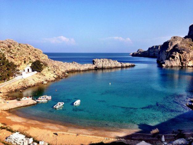 Родос   Не только Санторини: 10 самых красивых островов Греции   Brain Berries