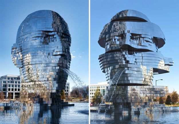 MetaLmorphosis Fountain | Brain Berries