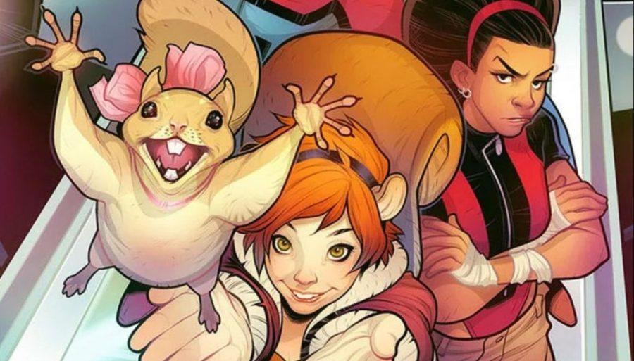 فتاة السنجاب |  9 شخصيات رائعة من Marvel يحتاجون إلى مسلسل تلفزيوني خاص بهم |  التوت الدماغ