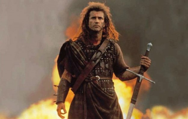 "William Wallace – ""Braveheart"" (1995)   7 Most Awe-Inspiring Heroic Deaths in Movies   Brain Berries"