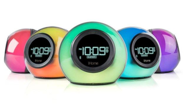 iHome Bluetooth Color Changing Dual Alarm Clock FM Radio | 6 Simple Useful Gadgets for Your Everyday Life