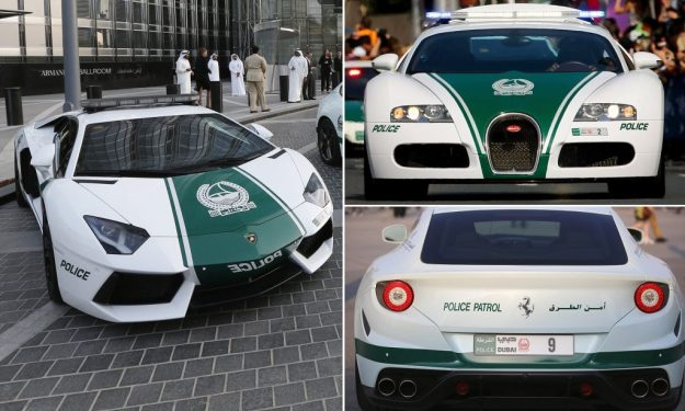 Bugatti Veyron | 7 World's Strangest Police Vehicles | Brain Berries